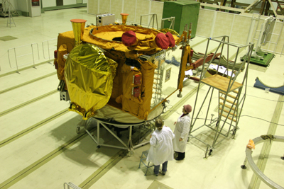 Lancement Proton / Express AM44 & Express MD1 (11 février 2009) Exspresmd1