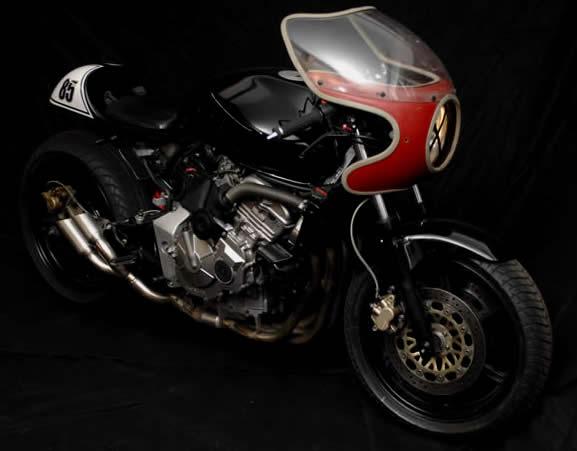 Transformation Honda Hornet en Café Racer  _DSC7565