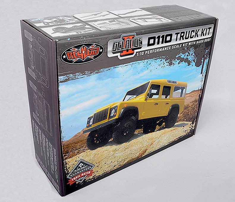 Gelande II D110 Truck Kit With Hard Body DSC_9680