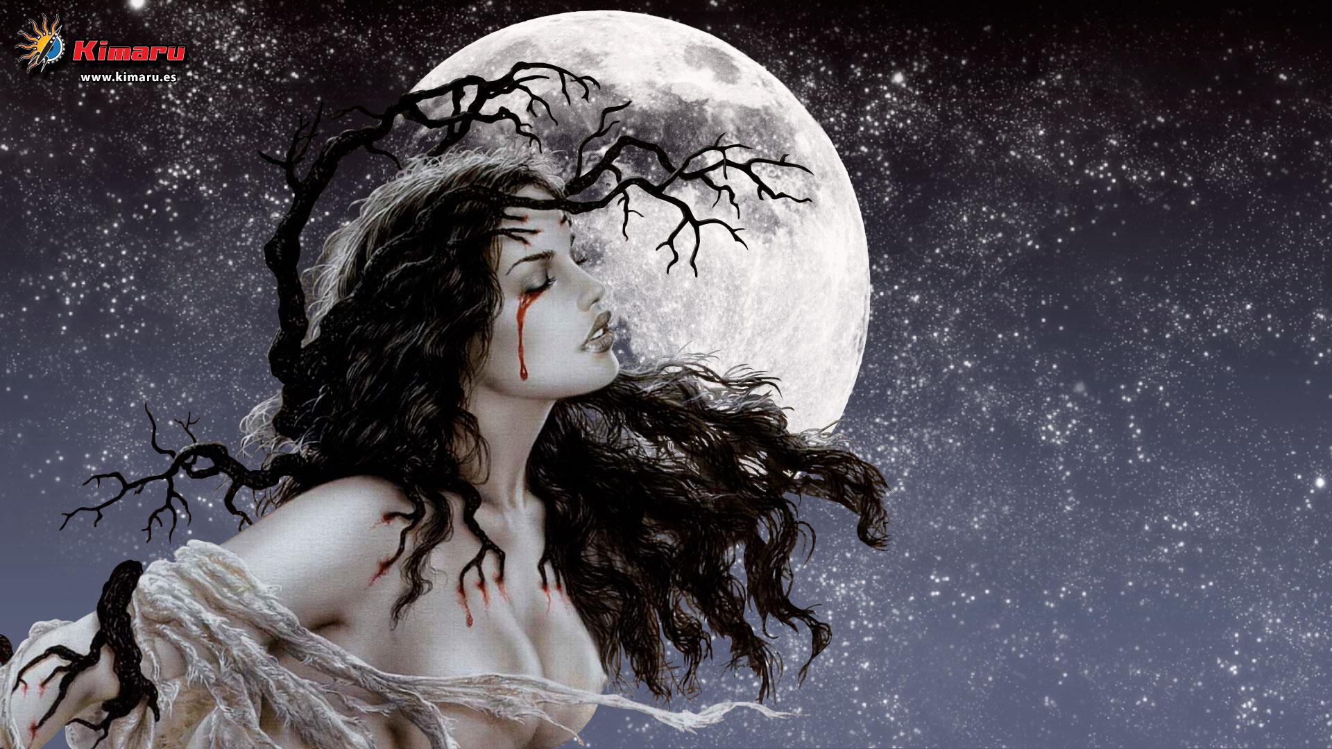 MOON NIGHT - Página 8 Luis-Royo-Mujer-Luna