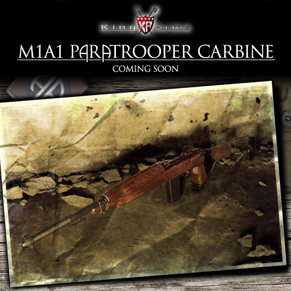 M1A1 Paratrooper Carbine! King Arms Webanner_M1carbine