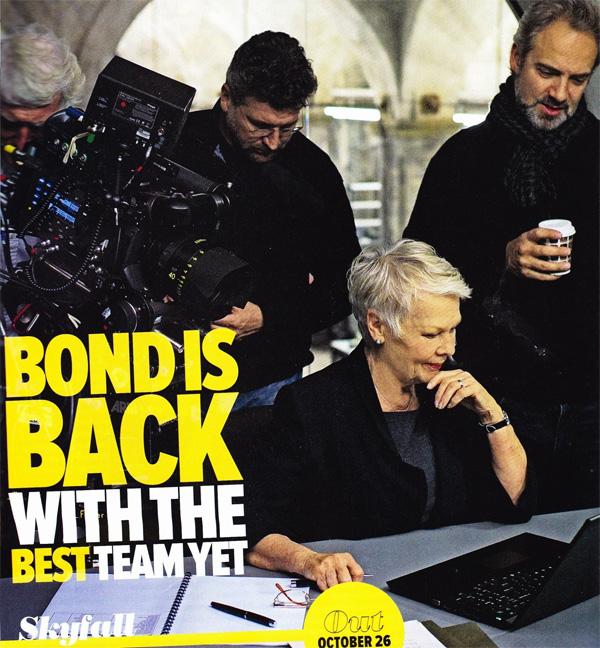 007: Координаты Скайфолл, Рухнувшие небеса/Skyfall Skyfall_poster