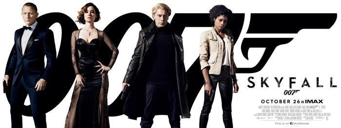 007: Координаты Скайфолл, Рухнувшие небеса/Skyfall Skyfall_poster3