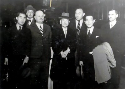 Jigoro Kanos trips to Europe (1933, 1934) 19360907XX_JigoroKano