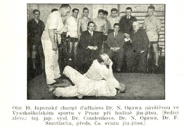 The early days of Judo in Czechoslovak Republic (and the contribution of the London Budokwai) Fsdobo_ogawa