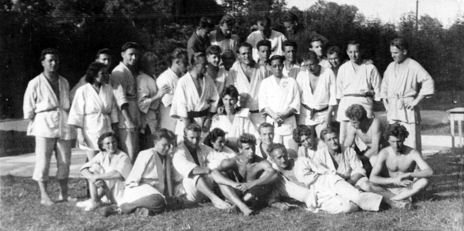 Kitayama Junyu 北山淳友 and judo in Germany  Petrohrad1951