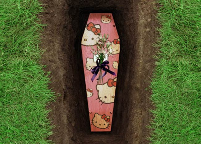 E' LA STAMPA  BELLEZZA!!!!!!! - Pagina 5 Hello-kitty-coffin-design