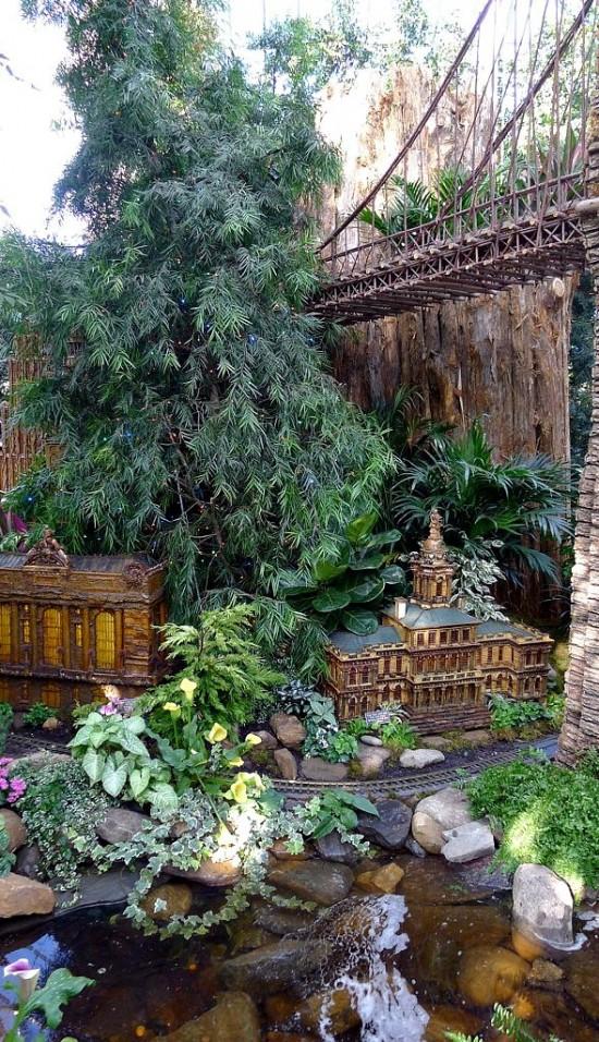 الحديقه النباتيه فى نيويورك امريكا  1315