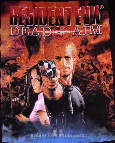 משחקי Resident Evil 1\2\3\4\5 PC להורדה לינק 1 מהיר ! Shirtresidentevilevildead3