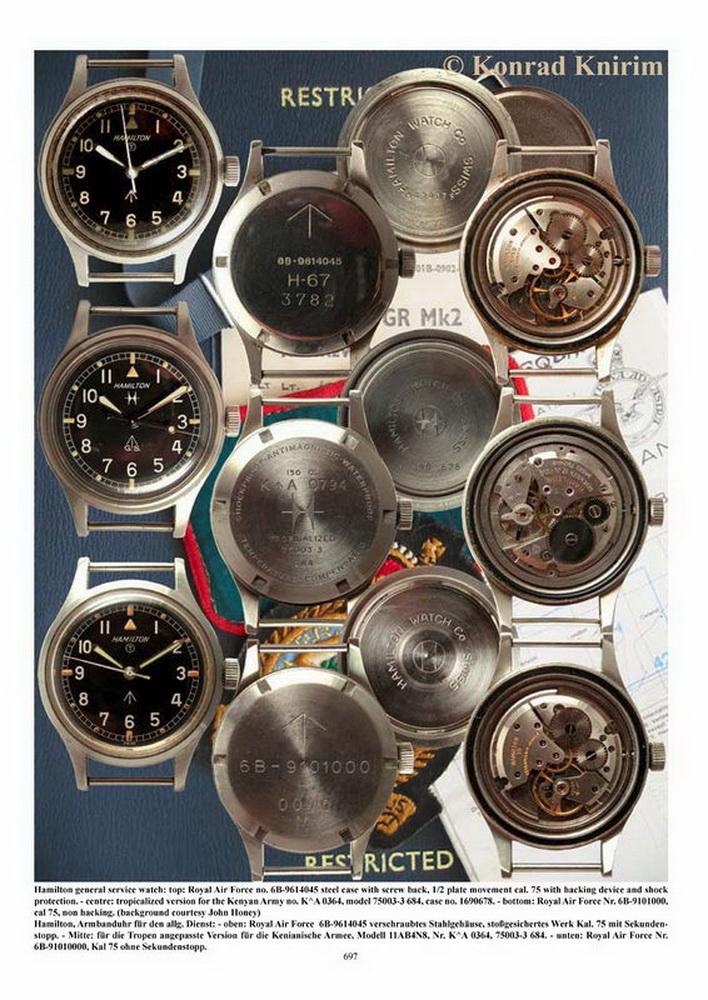 Hamilton G.S. et autres Hamilton militaires/ focus sur les navigational watches Zhamil67
