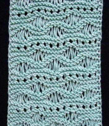 Mẫu đan của thành viên - Page 3 Scarfseafoamclose2