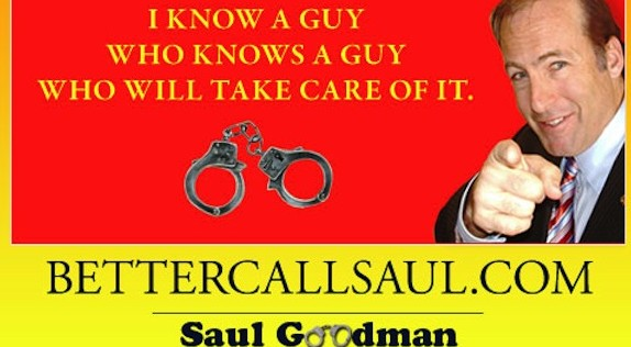 Pipe retort Better-Call-Saul