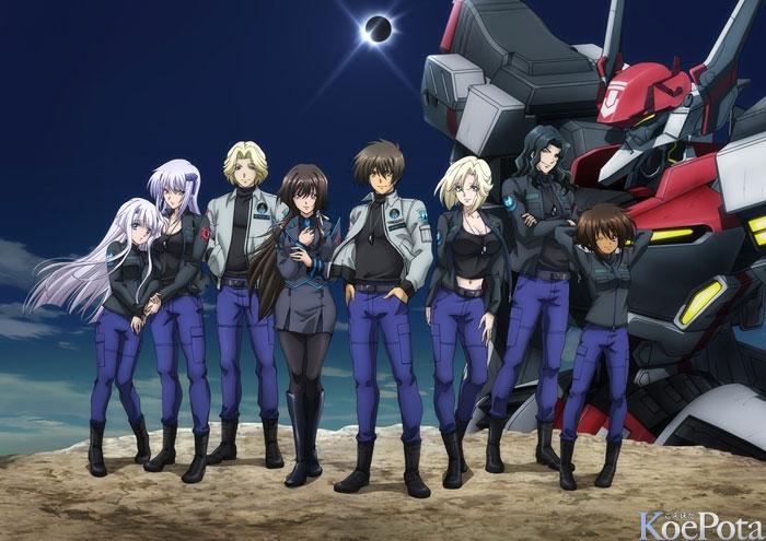 Muv-Luv Alternative: Total Eclipse (Anime)  0302_01