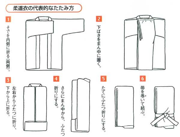 How fold judogi 柔道着の畳み方 Ya002_3
