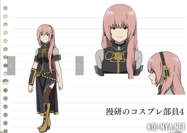 personajes de vocaloid en los nuevos capitulos de Hyouka! Hyouka-Vocaloid-cosplay-4