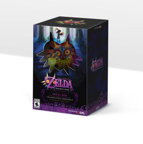 Videojuego >> The Legend of Zelda: Majora's Mask 3D (3DS) The-Legend-of-Zelda-Majoras-Mask-tendr%C3%A1-una-edici%C3%B3n-limitada-con-figura-de-Skull-Kid-en-Norteam%C3%A9rica