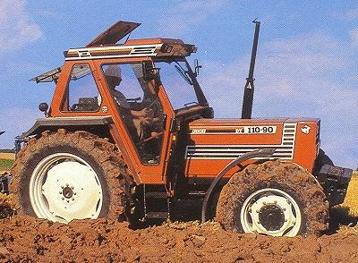 Quels tracteur rêviez-vous d'avoir quand vous étiez gosse ? 88Fiatagri110-90