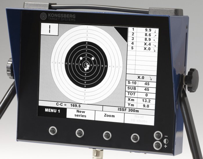 Electronic Targets for Pistol at CMP Range  Nsm1