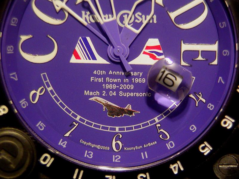 """Bulot sportif,ou """"Maman j'ai encore raté la montre de l'Avion"""" Concorde%20Museum%20Pilot%20Watch%209012-6b"""