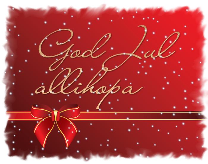 God Jul önskas alla! God-Jul