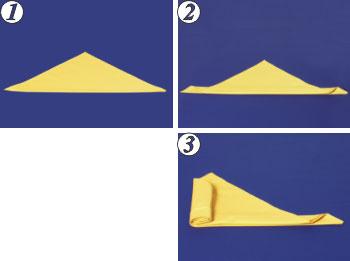 طريقة لف مناديل الطاولة روووعة S21a