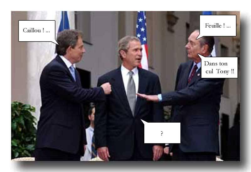 Images Comiques - Page 9 Bush-blair-chirac-politique