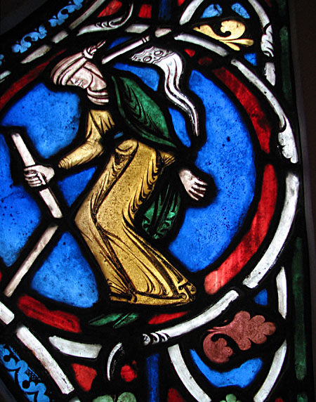 Les vitraux  du XIIIéme siècle . MEDGLASS-blind450