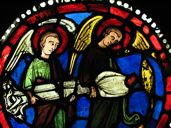 Les vitraux  du XIIIéme siècle . MEDGLASS-headless590