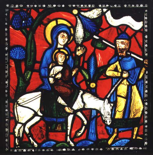 Les vitraux  du XIIIéme siècle . Flightbig
