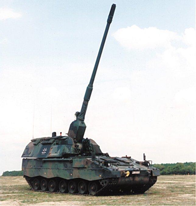 Armée Allemande (Bundeswehr) Pzh2000-04