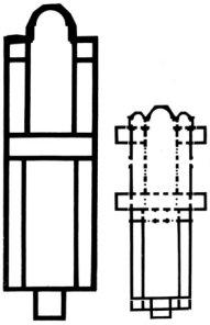 Cruz Enkolpio bizantina Virgen PLATYTERA con los peces Sv_s170
