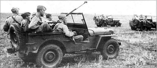 Un peloton original et peu connu :  Le peloton de jeeps blindées du 9ème escadron du 1er REC  (Laos - mai-novembre 1953) . 6