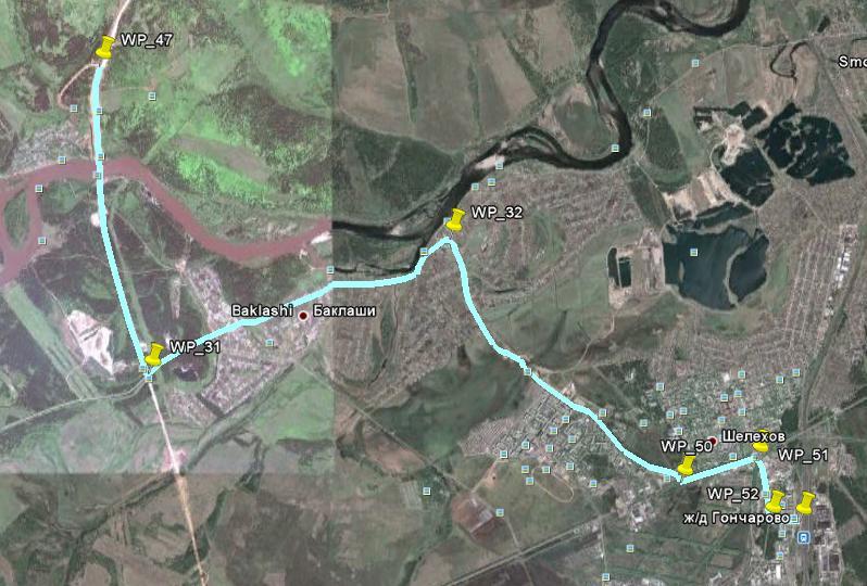 Ангарск - Савватеевка - Шаманка - ... Assh-4.2.2