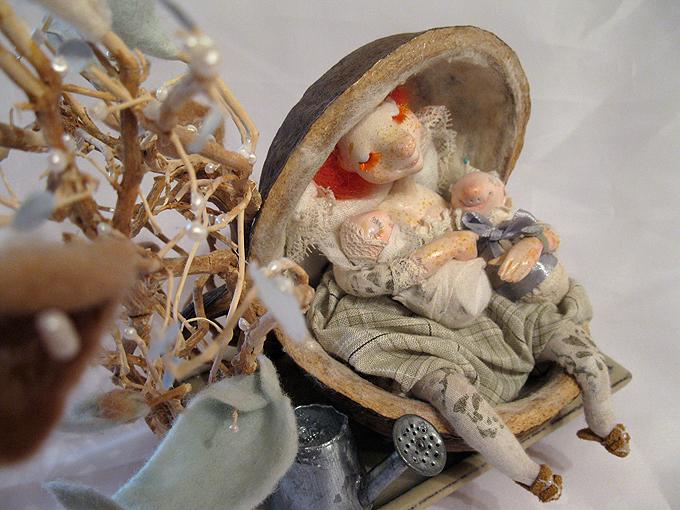 Авторские куклы Алисы Баженковой K10-15