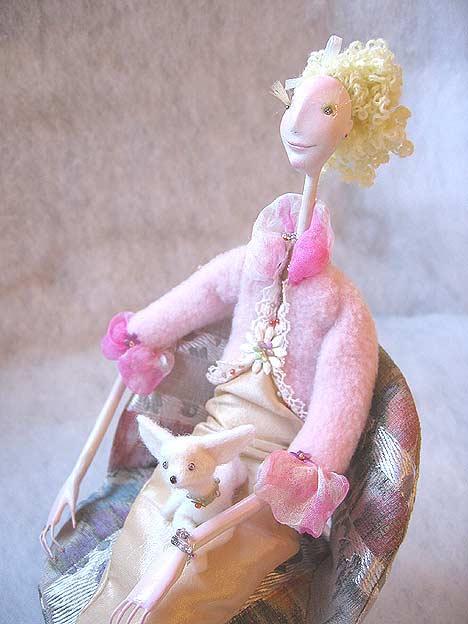 Авторские куклы Алисы Баженковой K7-18