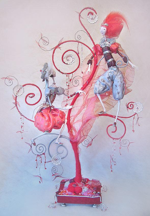 Авторские куклы Алисы Баженковой K7-6