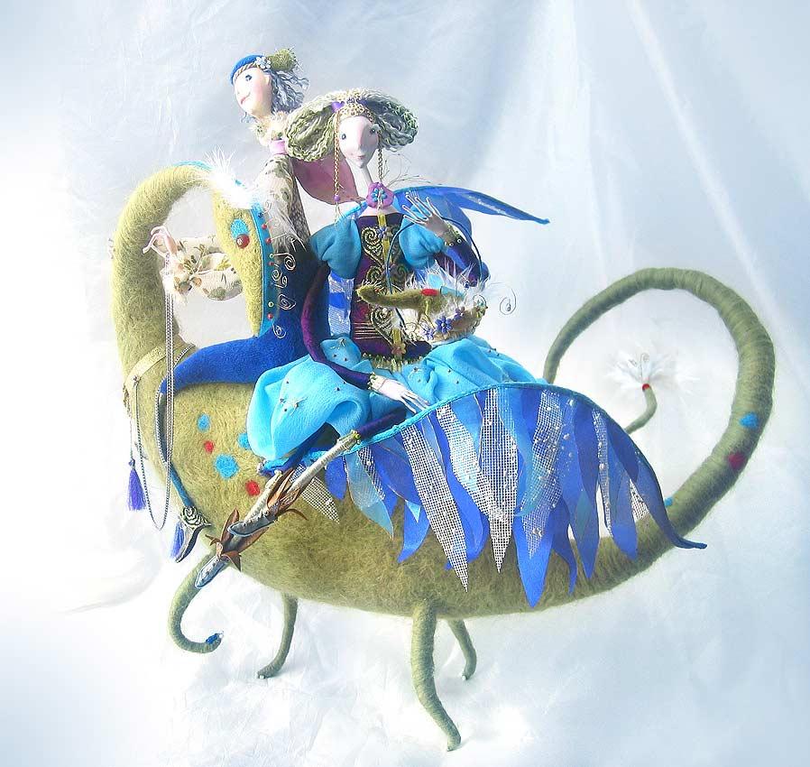 Авторские куклы Алисы Баженковой K7-9