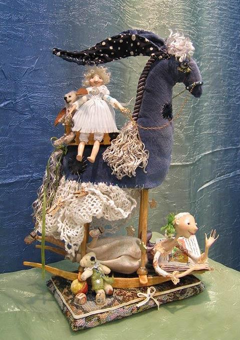 Авторские куклы Алисы Баженковой K8-25
