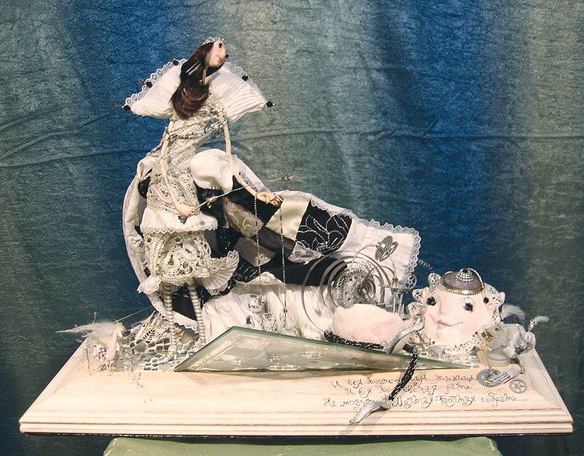 Авторские куклы Алисы Баженковой K8-36