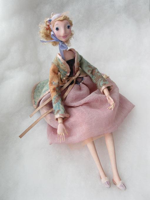 Авторские куклы Алисы Баженковой K9-1