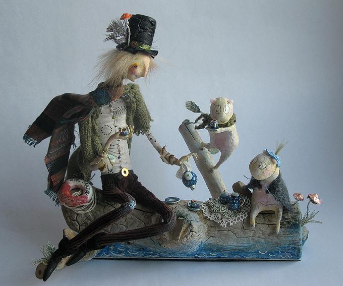 Авторские куклы Алисы Баженковой K9-36