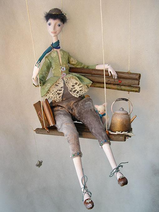 Авторские куклы Алисы Баженковой K9-5