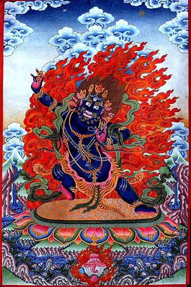 Ваджрапани - гневный бодхисаттва 0014