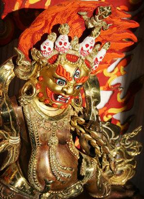 Ваджрапани - гневный бодхисаттва 0015