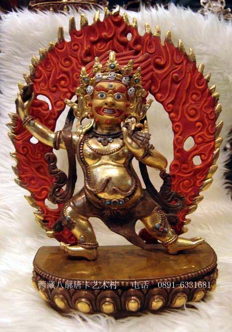 Ваджрапани - гневный бодхисаттва 0028