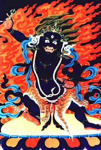 Ваджрапани - гневный бодхисаттва Vajrapani4