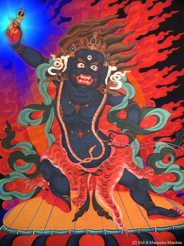 Ваджрапани - гневный бодхисаттва Vajrapani5