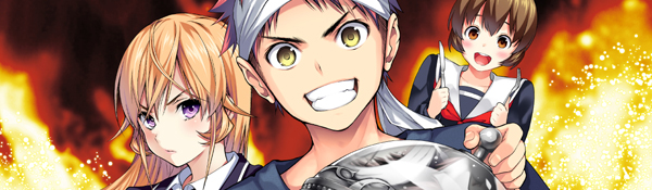 [NEWS] Le manga Food Wars! adapté en anime ! Vizfoodwars