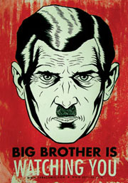 Big Brother is watching.... 1984-Big-Brother