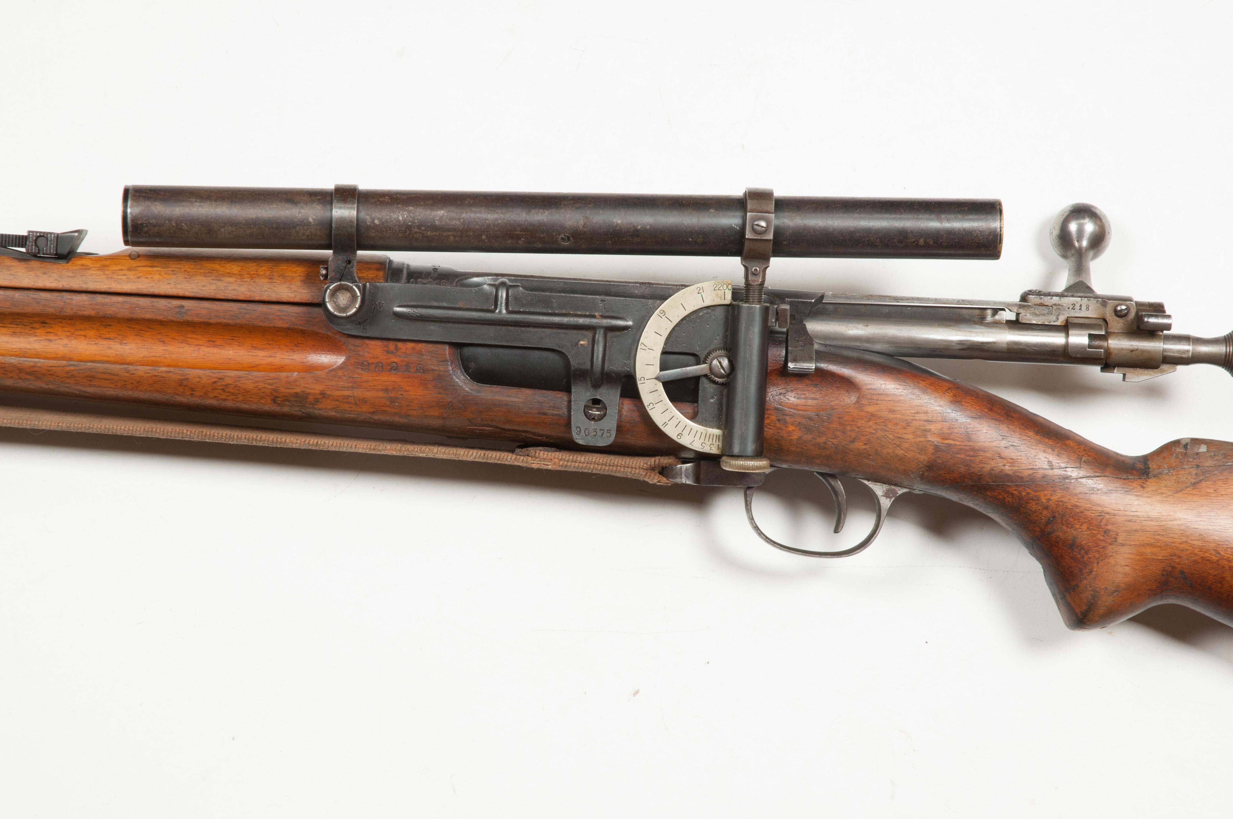 FUSIL KRAG JORGENSEN MODELE 1894 NORVEGIEN Rifle-Kongsberg-Krag-M1894-Kikkert-90218-3